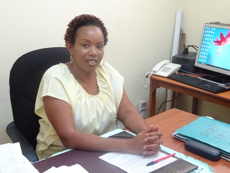 Mkuu wa Idala ya Kiswahili( Bi Regina Gasheru)